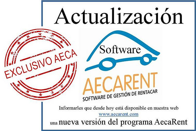 Actualización Software AecaRent